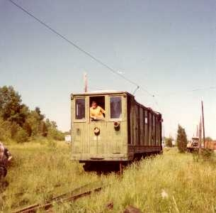 Photograph of D-7 at Tansboro, NJ 1972 by Alan Trachtenberg