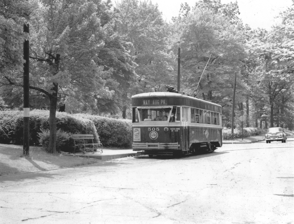 Photo of 505 at Nay Aug Park - Railways to Yesterday photo collection