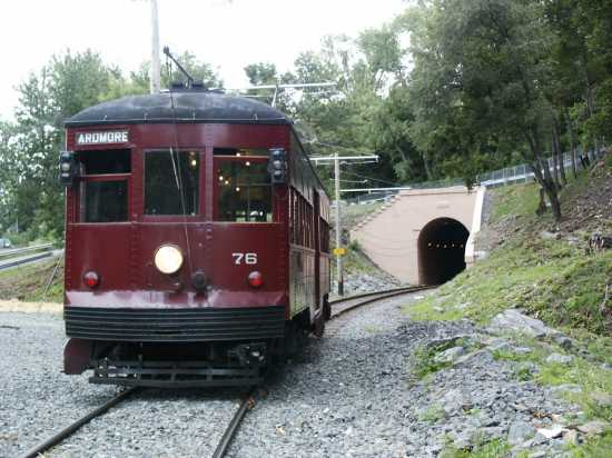 No. 76 at the South Tunnel portal