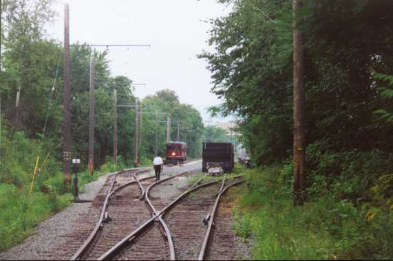 Photo of current end of line