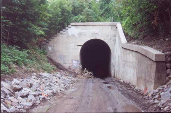 Photo of South Tunnel Portal