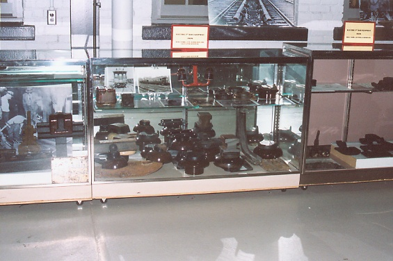 Display of 3rd Rail Insulators
