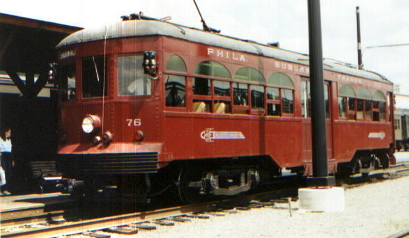 #76 At Steamtown Loading Platform