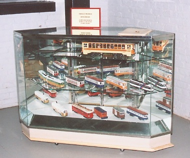 Trolley Models on Display