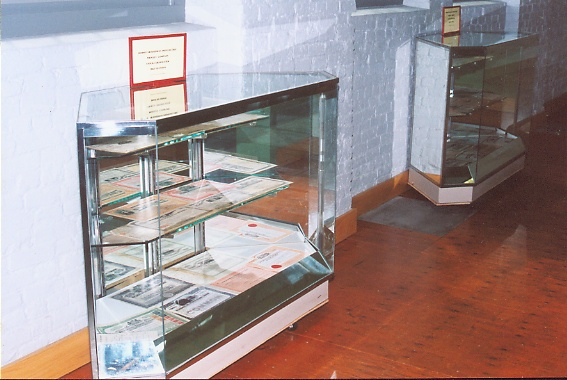 Trolley Stock Certificate Display Case