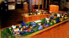 Electric City wooden railway